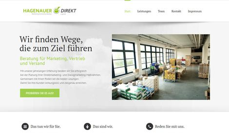 Website Hagenauer Direkt