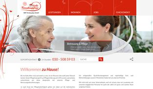 Website HKP Chickowsky GmbH