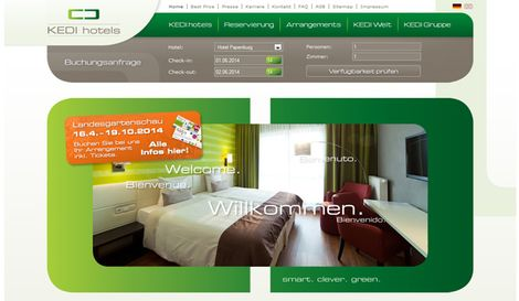 Website Kedihotels