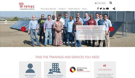 Website renac - renewables academy